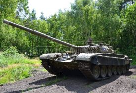 Main battle tank T-72 M