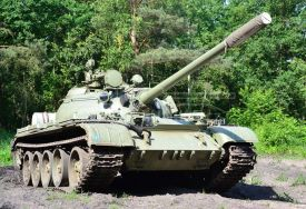 Main battle tank T-55A