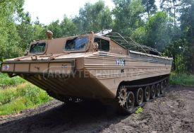 Amphibious tracked carrier PTS-10