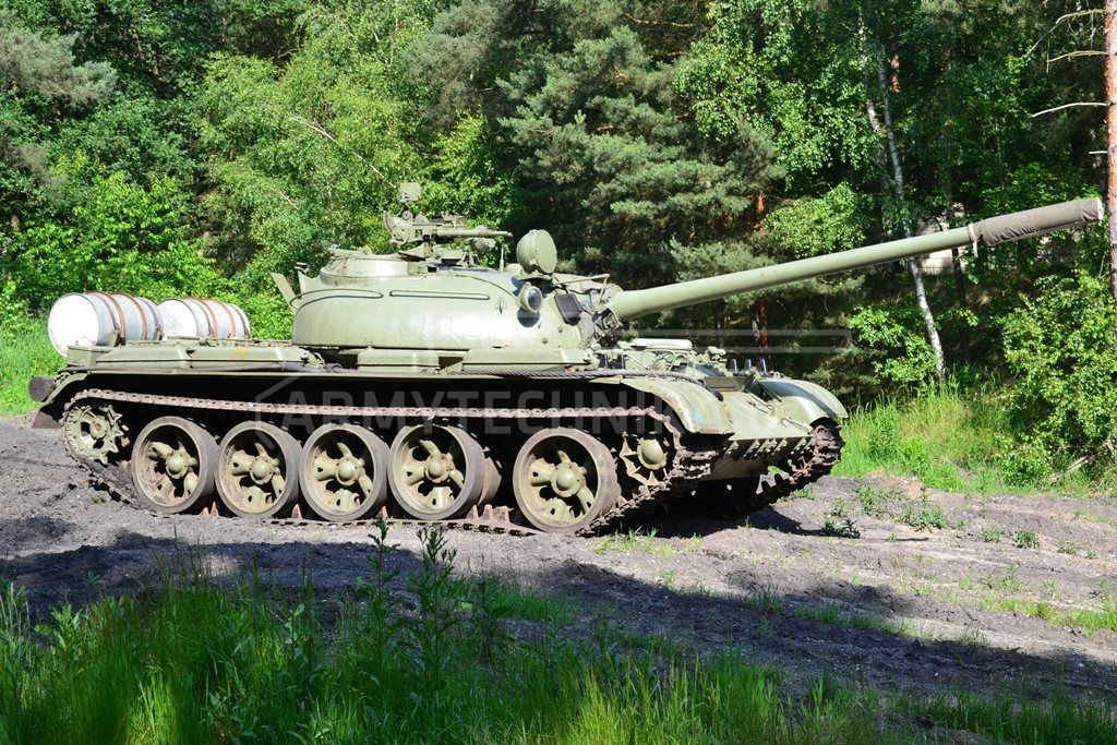 Ex Military Tanks For Sale >> Main battle tank T-55A | EXARMYVEHICLES.com