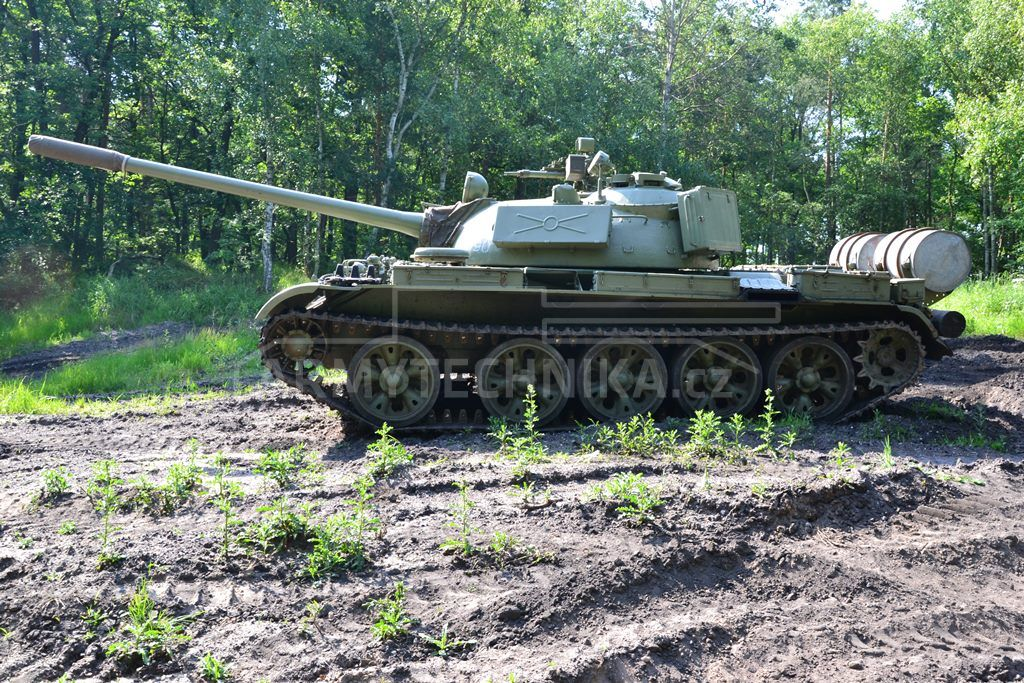 Army Tanks For Sale >> Main battle tank T-55A | EXARMYVEHICLES.com