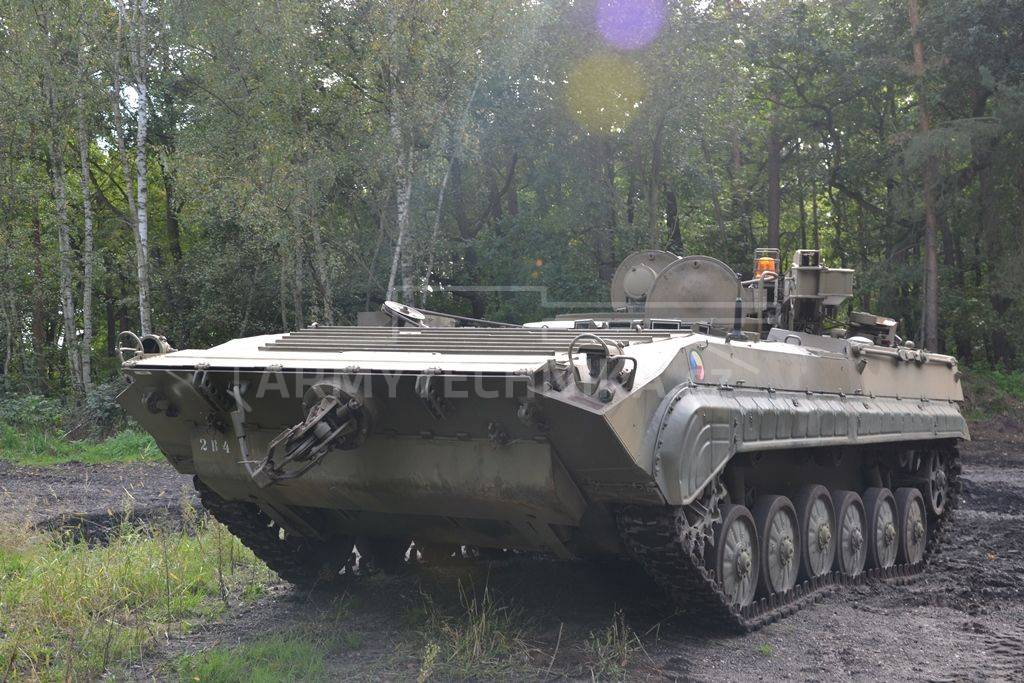 Armoured Recovery Vehicle (ARV)  BMP-VPV