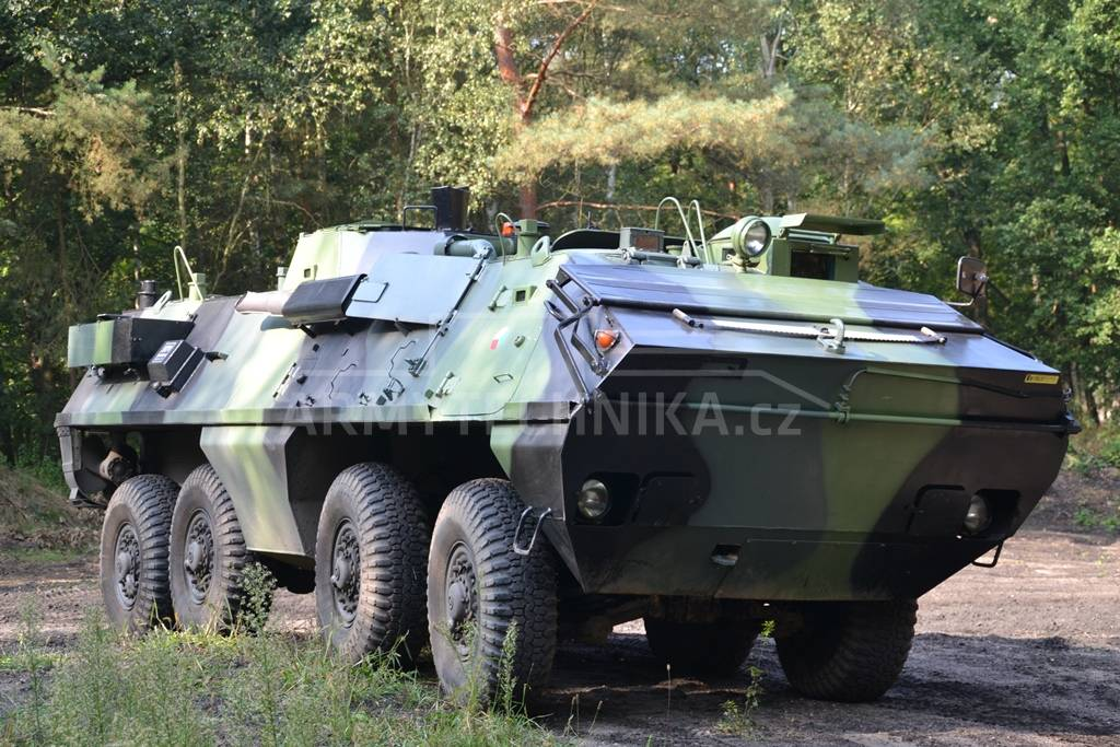 Armoured personnel carrier OT-64 SKOT