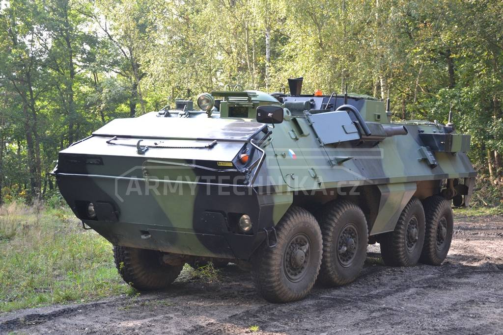 Armoured personnel carrier OT-64 SKOT   EXARMYVEHICLES.com