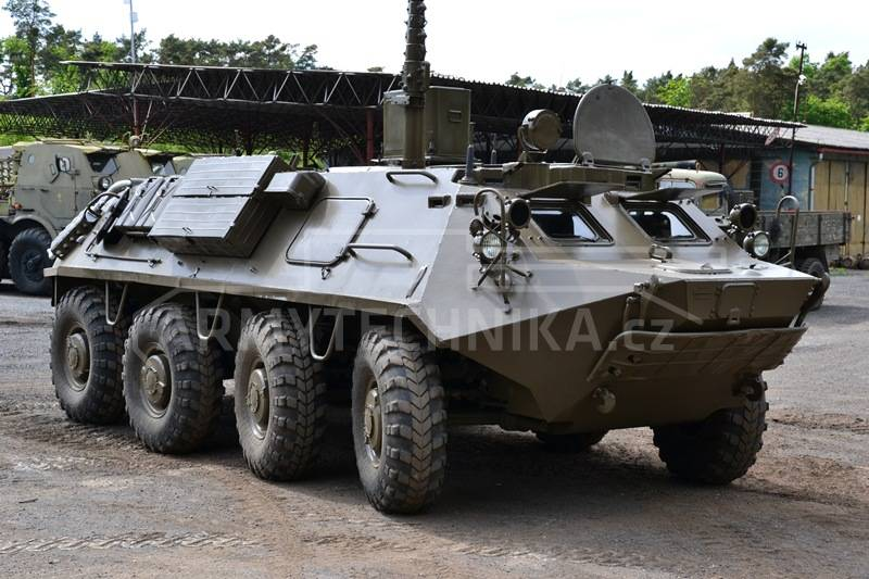 Ex Military Tanks For Sale >> Armoured personnel carriers (APC) BTR-60 PU-12 | EXARMYVEHICLES.com
