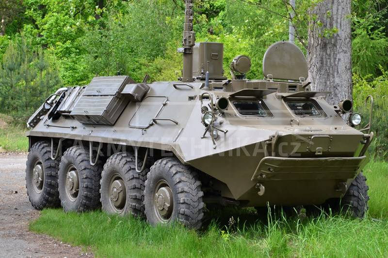 Armoured Personnel Carriers Apc Btr 60 Pu 12 Exarmyvehicles Com