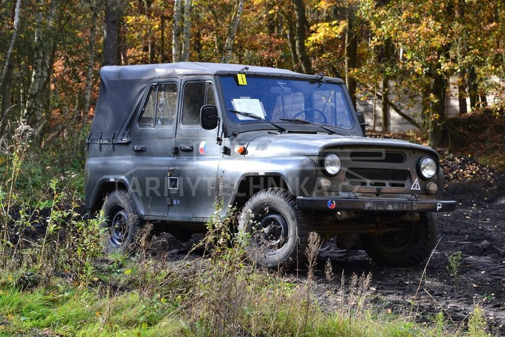 All-terrain personal vehicle UAZ 469 | EXARMYVEHICLES com