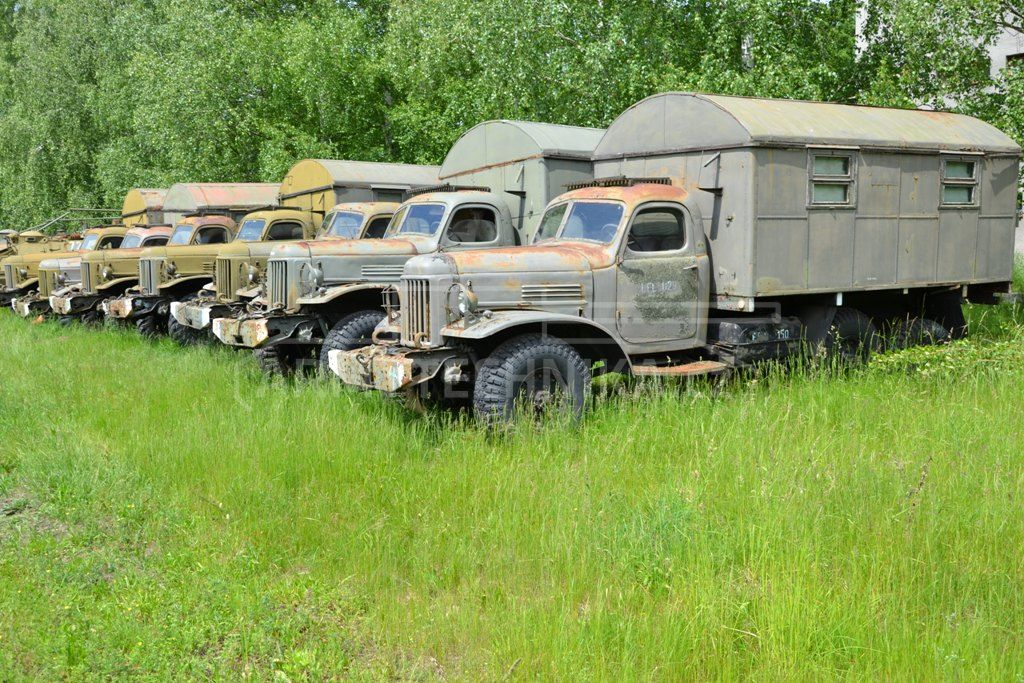 All-terrain medium truck Zil-157k